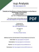 Towards an Economics of Human Relations