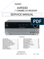 Manual de Servicio Harman Kardon