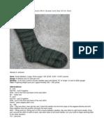 Toe Up Socks Slip Stitch Heel
