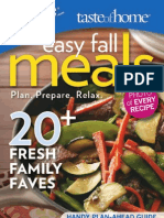 Easy Fall Meals