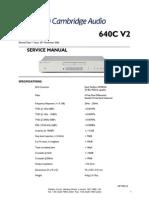 Manual de servicio Cambridge