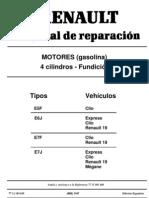 Manual de Motor Renault 1.4 Energy (Clio,r19,Etc)
