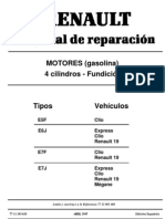 Manual de Motor Renault 1.4 Energy (Clio,r19,Etc)