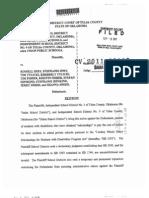 HB3393 110902 Districts' Lawsuit Against Parents