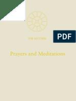 01. Prayers and Meditations