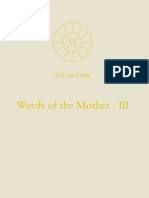 15. Words of the Mother III