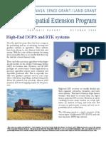 Advanced Gps--rtk and Dgps