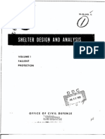 1962 Fallout Shelter Design