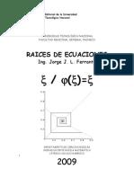 Raices de Ecuaciones