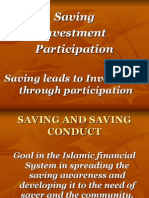 Saving Investment & Participation Islamic Banking