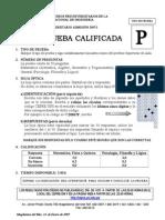 CEPREUNI CICLO PREUNIVERSITARIO ADMISIÓN 2007I