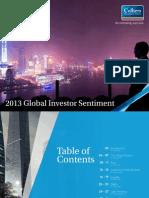 Colliers 2013 Global Investor Sentiment Report-En