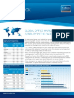 Global Office Market Shows Stability in the Face of Headwinds