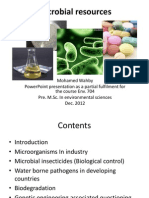 M. Wahby - Microbial Resources