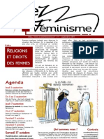 Osez le féminisme, n°1 septembre 2009