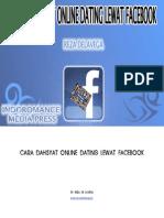 Cara DAHSYAT Online Dating Lewat FACEBOOK