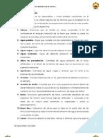 Terminología Hidráulica