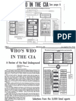 who's who in the cia