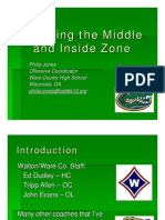 Blocking the Middle & Inside Zone