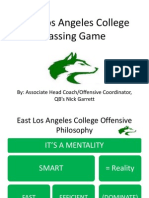 East LA College Passing Game