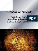 Nuclear accidents presentation
