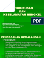 Kuliah 2 - Pengurusan Dan Keselamatan Bengkel.