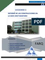 Informe de Construcciones - Visita a Mantaro
