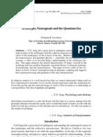 Archetypes,Neurognosis and the Quantum Sea