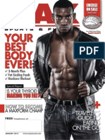 JANUARY 2013 MAX SPORTS & FITNESS MAGAZINE