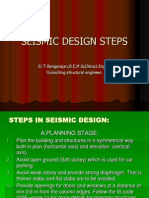 Seismic Design Steps