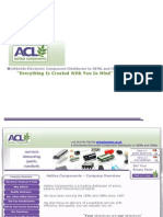 PPT for Ashlea Components 11th Dec12