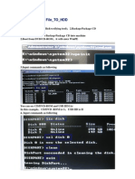 Sop From Pai File to Hdd