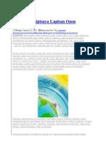 Bahaya Menipisnya Lapisan Ozon