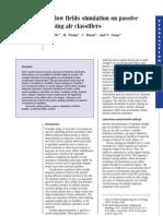 Airflow field simulation on Passive Pulsing