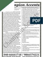 Civils Prelims Mock Test1 Paper2