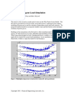 Weather Contingent Load Simulation