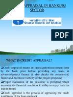 creditappraisalinbankingsbi-120203222702-phpapp01.ppt