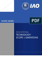 IAO Whitepaper - Educational Technology