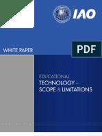 IAO Whitepaper - Educational Technology