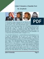President John F. Kennedy-a chanchin tawi (Mizo Version)