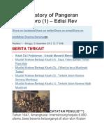 Novel Pangeran Diponegoro