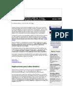 Crisis Retail en Mexico y Cambios Al Consumidor para el 2009