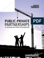 Public Private Partnerships in Housing and Urban Development
