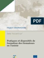 Pratiques Et Dispositifs de Formation Des Formateurs en Tunisie