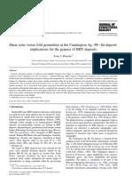 SZ versus fold geometries at Cannington Ag–Pb–Zn deposit