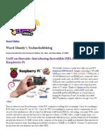 PAIF on Raspberry Pi