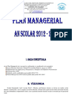 Plan managerial anual 2012-2013