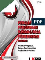 Modul 3 - Persiapan Pengadaan Barang Jasa Pemerintah Bagian II