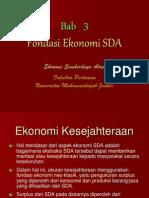 E S D a - 3 - Fondasi Ekonomi