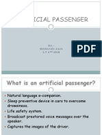 Artificial Passenger Final